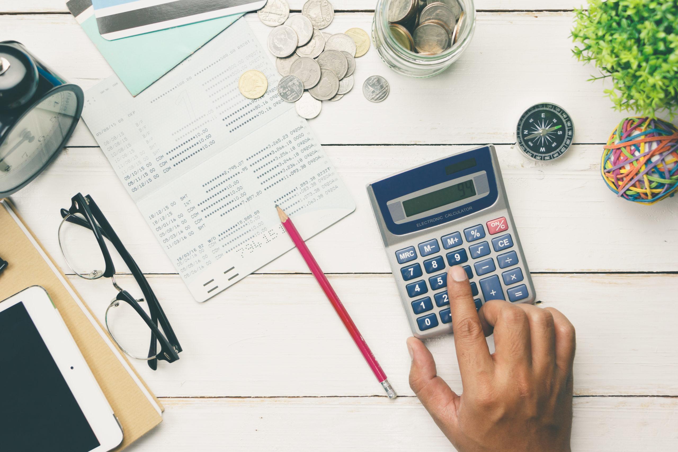 オンラインカジノで1ヶ月に使える金額を計算する