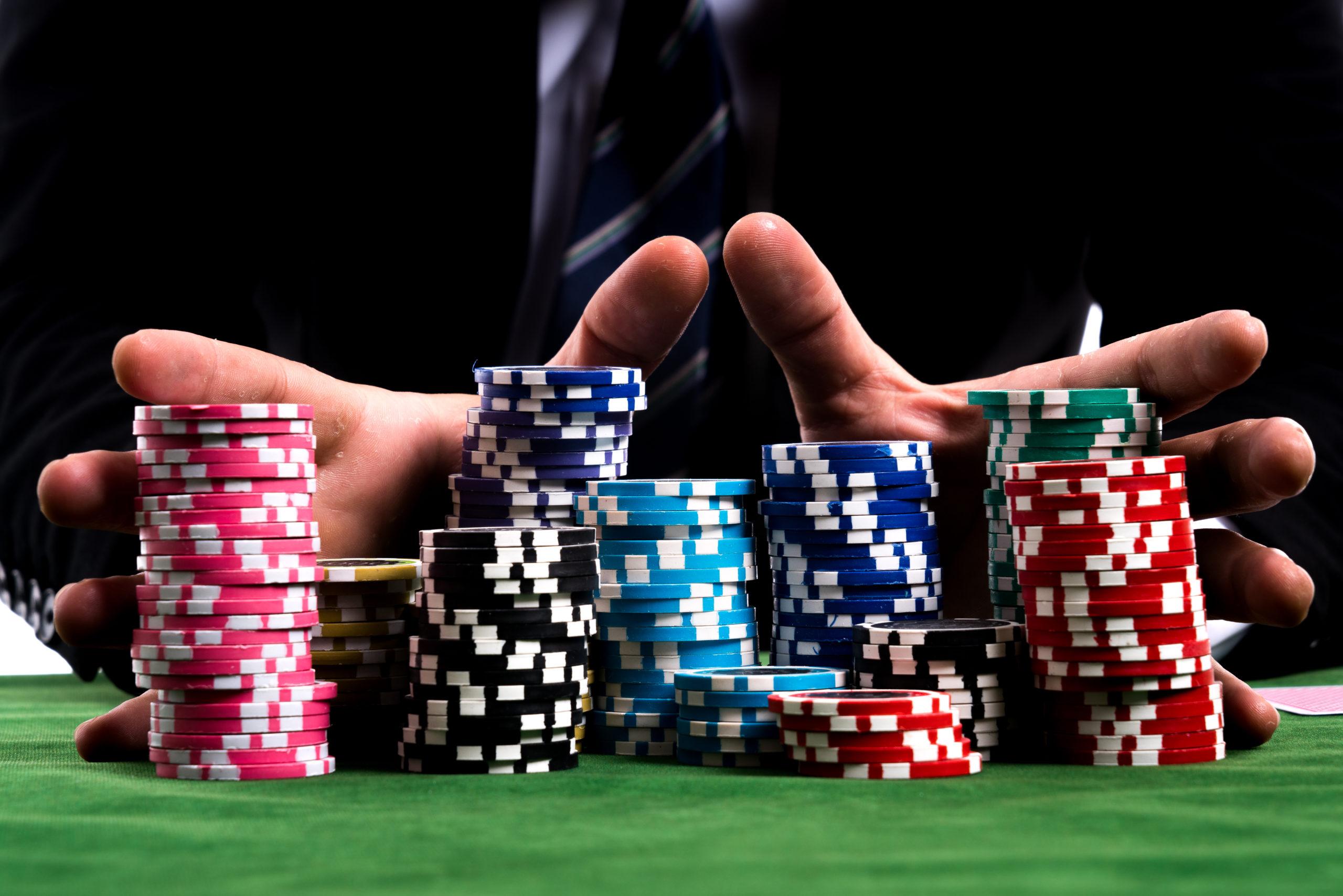ポーカーのチップ