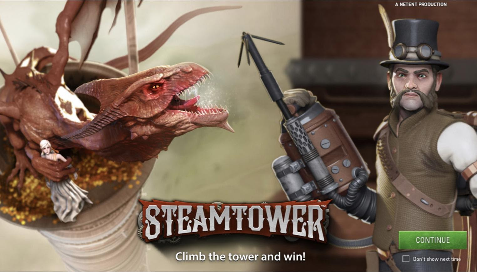 Steam Tower-top
