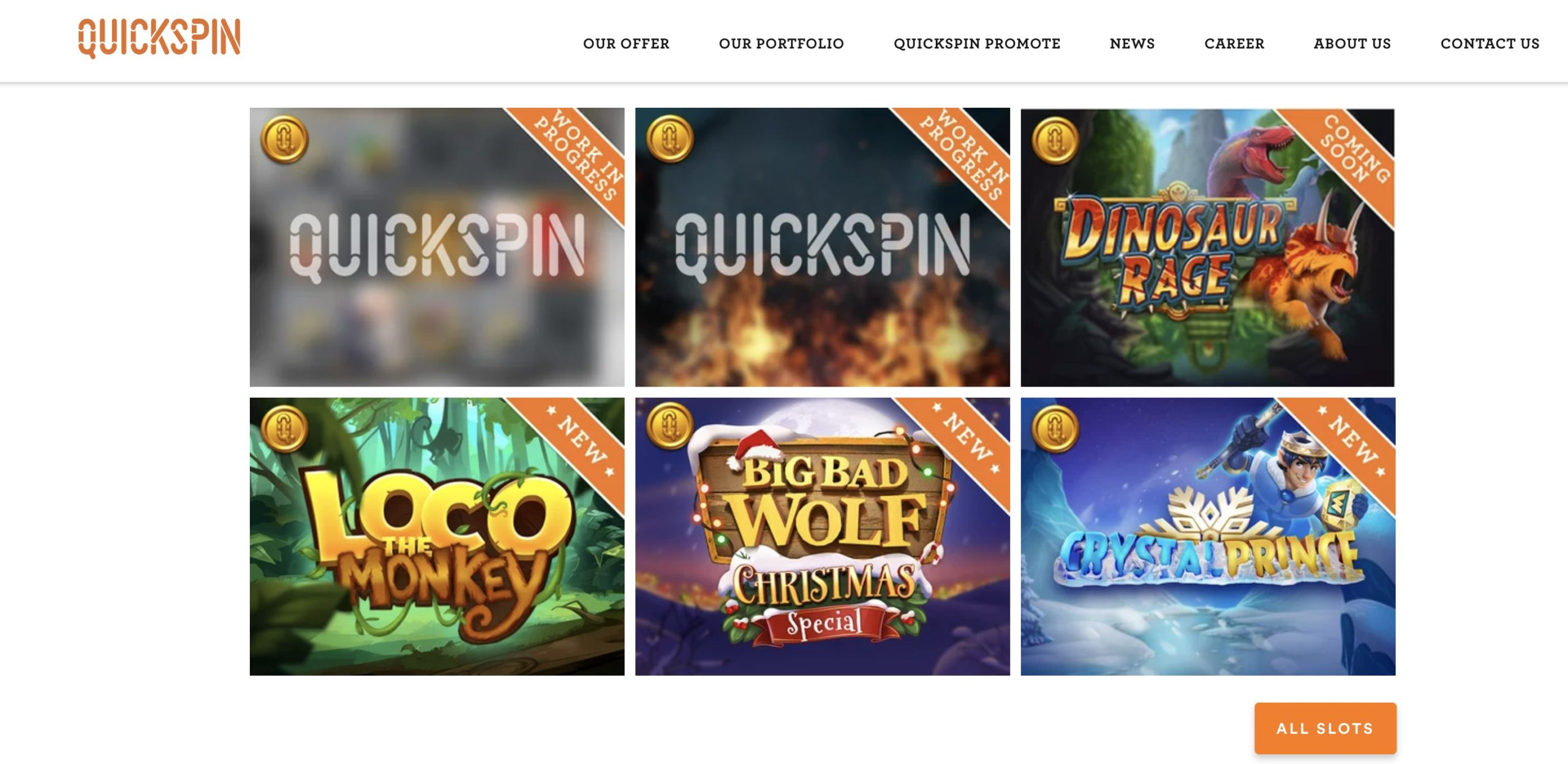 QUICKSPIN オンラインカジノ
