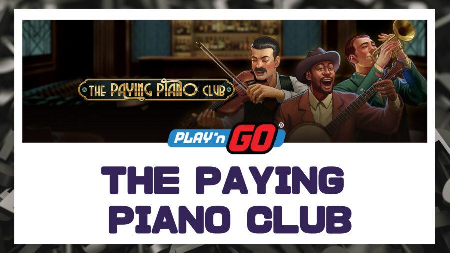 【プレゴー新台】Paying Piano Club ~ 3x3のクラシックスロット登場!