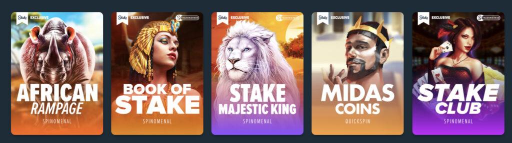 ステークカジノ 限定ゲーム